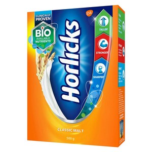 Horlicks Energy Drink Classic Malt 500g