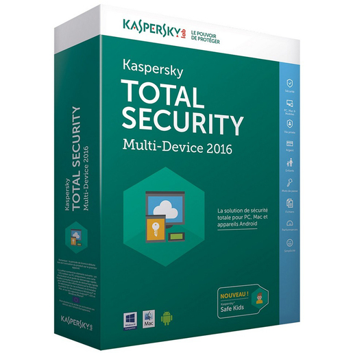 Kaspersky Multi Device Total Security 1 User