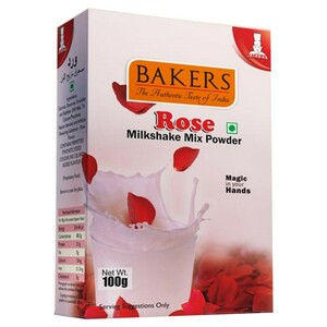 Bakers Rose Milk Shake Mix 100g