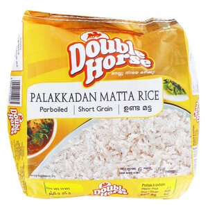 Double Horse Parboiled Rice Rose Matta 10kg