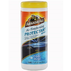 Armor All Air Freshener Protectant 25Wipes