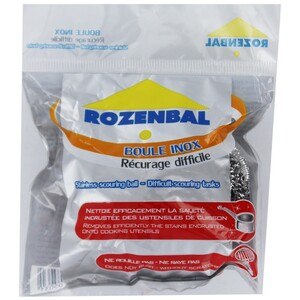 Rozenbal Stainless Scourng Balls Single 1's