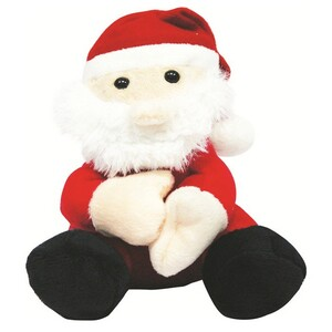 Flamingo Santa Soft Toy 18cm 13201