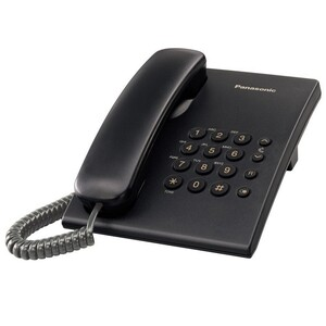 Panasonic Telephone KX-TS500 Black
