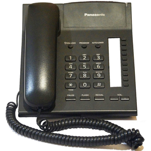 Panasonic Telephone KX-TS820MX Black