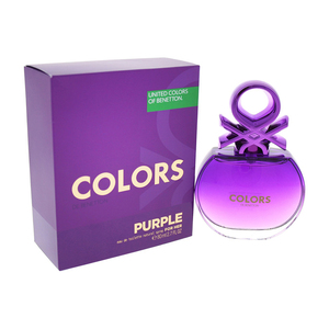 BENETTON COLORS PURPLE FOR HER EDT NAT SPRAY 80ML