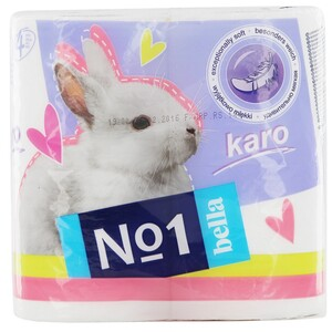 Bella No.1 Toilet Paper Karo 4pcs