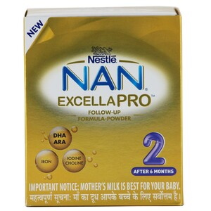 Nestle Baby Milk Powder Nan Excella Pro Stage 2  400 G