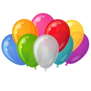 HeyDay Balloons MultiColor 36 Pcs