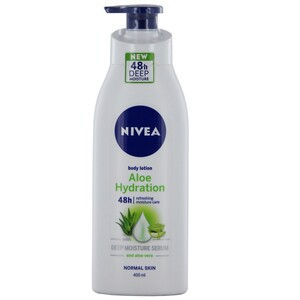 Nivea Body Lotion Pump Aloe Vera 400ml