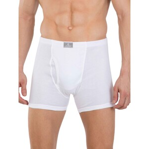 JOCKEY Mens Boxer Brief 8008 2Pc WHITE MEDIUM