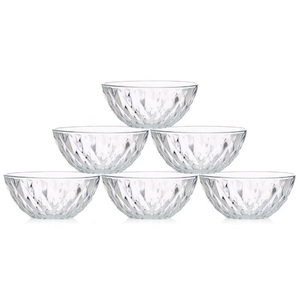 Union Glass Phoenix Snacks ware 6Pc Set