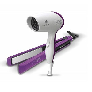Havells Hair Dryer & Hair Straightener Combo Pack HC4025