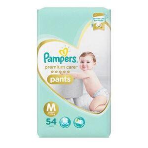 Pampers Premium Care Pants Jumbo 54's Medium