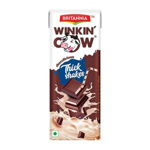 Britannia Winkin Cow Chocolate Tetra 180ml