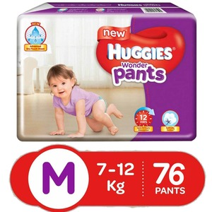 Huggies Wonder Pants Medium 76s