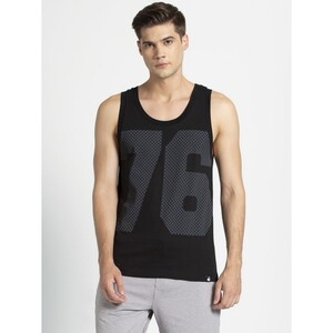 JOCKEY Mens Gym Vest 9928 1Pc BLACK SMALL