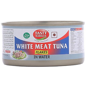 Tasty Nibbles White Meat Tuna Flakes In Water 185g