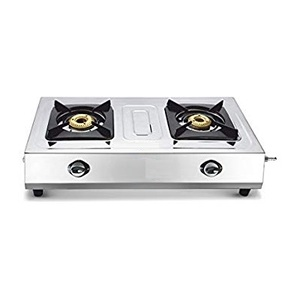 Premier Gas Stove Stainless Steel Chic 2Burner