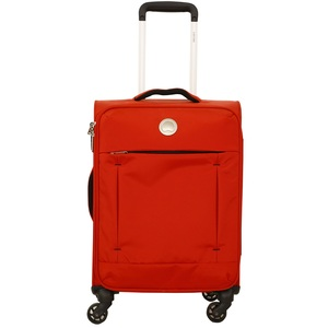 Delsey Spinner Soft Trolley Banjul 55cm Red
