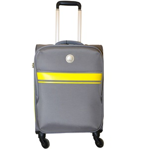 Delsey Spinner Soft Trolley Qujda 55cm Grey