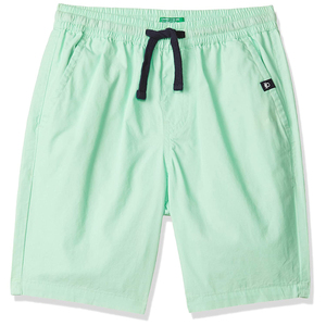 United Colors of Benetton Boy's Regular Fit Cotton Shorts- Green