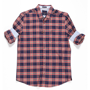Scullers Men Shirt PSCUL-SHR-0022361 Red
